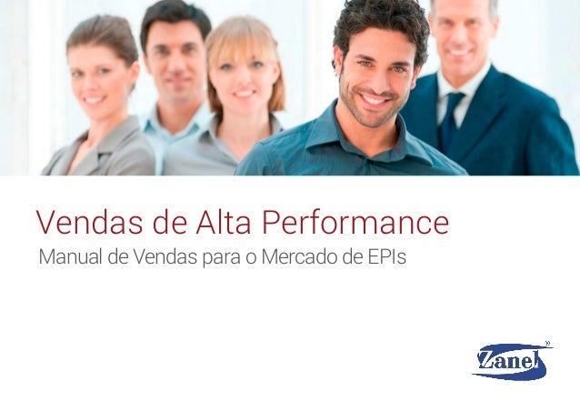 Manual de Vendas para o Mercado de EPIs Vendas de Alta Performance