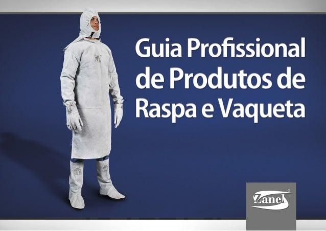 Guia Profissional de Produtos de Raspa e Vaqueta