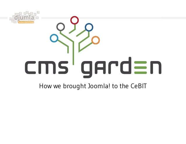 How we brought Joomla! to the CeBIT