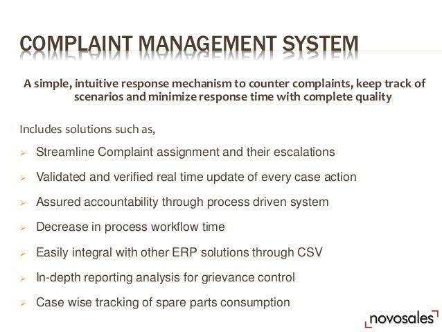 Remote File a Complaint