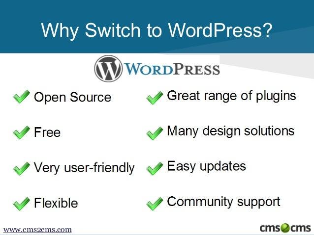 How to Migrate from Joomla to WordPress Slide 3
