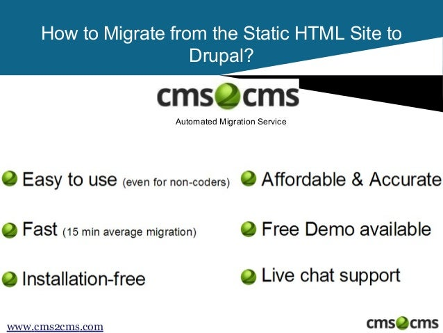 How to Convert HTML to Drupal Slide 2