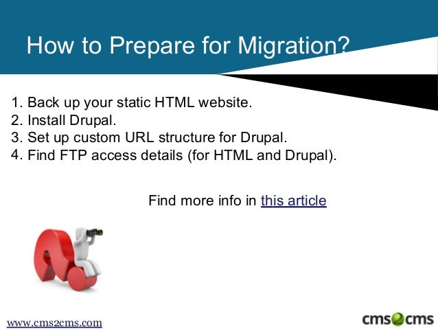 How to Convert HTML to Drupal Slide 3