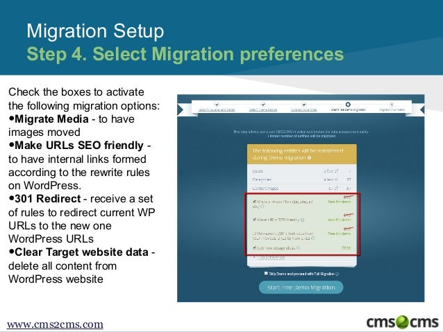 How to Migrate WordPress to New Host with CMS2CMS - 웹