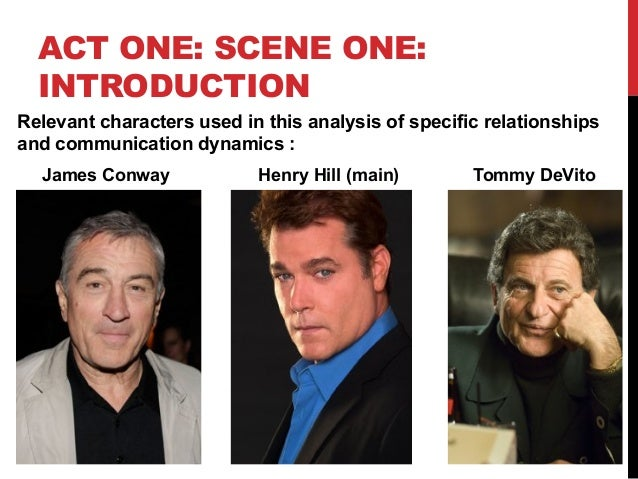 goodfellas analysis Goodfellas (stylized as goodfellas) is a 1990 american crime film directed by  martin scorsese it is an adaptation of the 1986 non-fiction book wiseguy by.