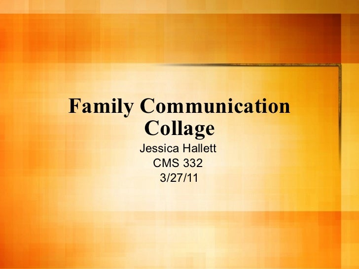 Cms 332   family comm collage 327