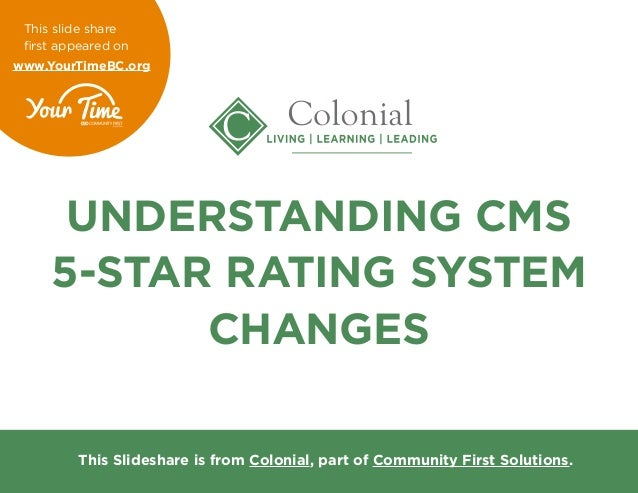 CMS's Star Rating Program is based on measures in nine (9) different domains