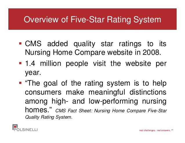 Cms Nursing Home Rating System