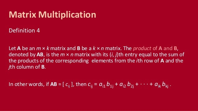 CMSC 56 | Lecture 17: Matrices