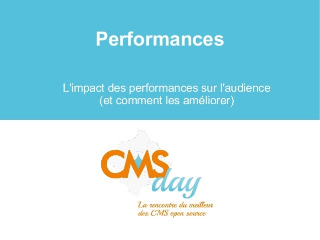 Performances L'impact des performances sur l'audience (et comment les améliorer)