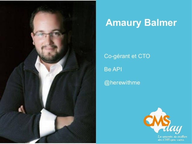 Amaury Balmer Co-gérant et CTO Be API @herewithme