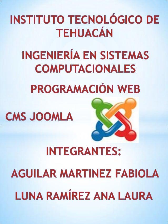 Joomla es un sistema gestor decontenidos dinámicos (CMS oContent Management System)que permite crear sitios webde      alt...