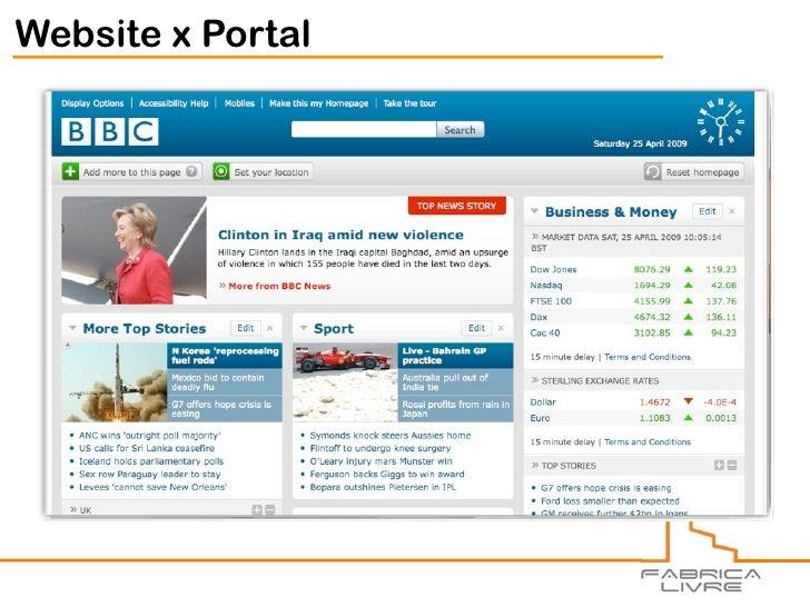 Website x Portal