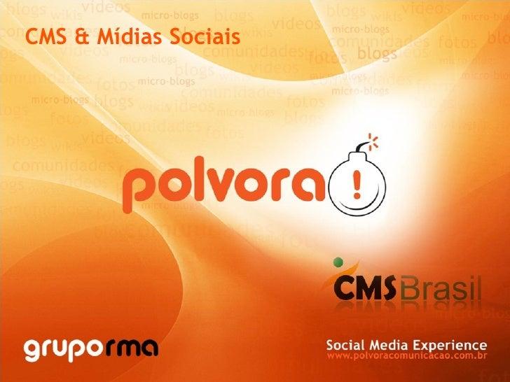 CMS & Mídias Sociais