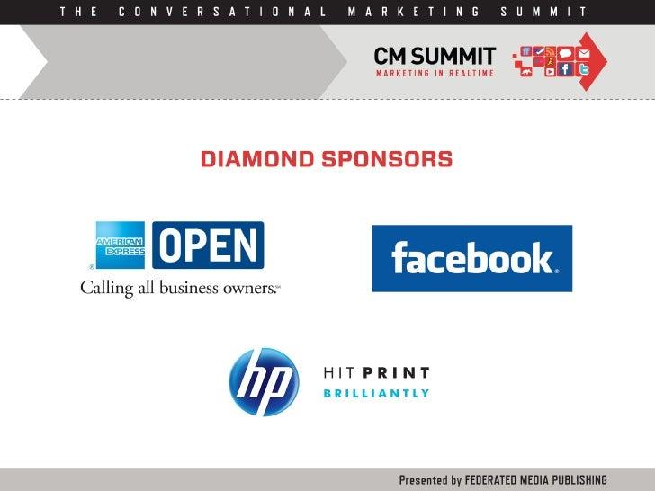 CM Summit 2010 Sponsors Slide 2
