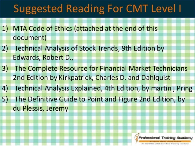 technical analysis of stock trends 10th edition pdf