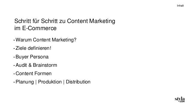 Content Marketing im E-Commerce #cmtb11 Slide 3
