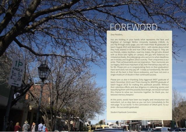 CMU Adelaide Yearbook 2013  Slide 2