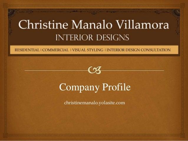 designer profile manila