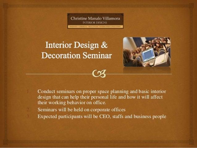 Personal Profile Interior Designer