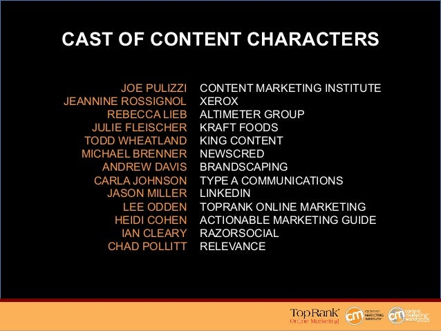 Measuring Your Content Marketing Box Office Success Slide 3