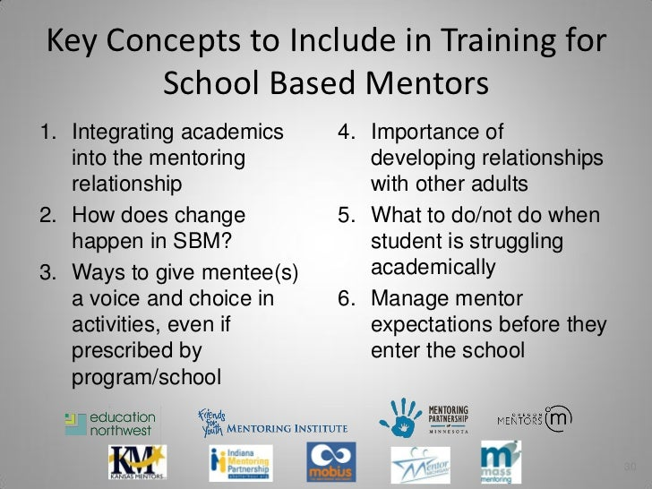 establishing a school based mentoring program for Establishing a school-based mentoring program for youth this article is about a high school counselor who realizes the struggles of students who are involved in the transition from the juvenile system into adulthood.