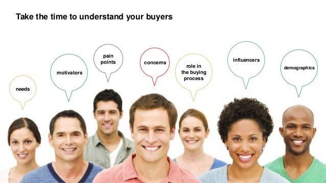 @kevinrcain #cmworld pain points motivators influencers needs concerns role in the buying process Take the time to underst...