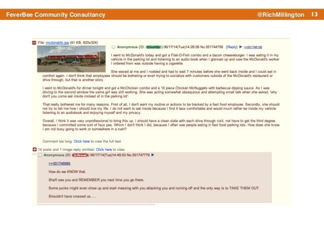13FeverBee Community Consultancy @RichMillington