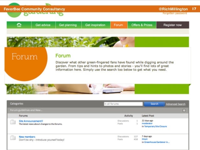 17FeverBee Community Consultancy @RichMillington