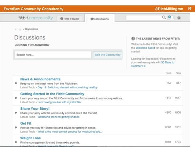 19FeverBee Community Consultancy @RichMillington