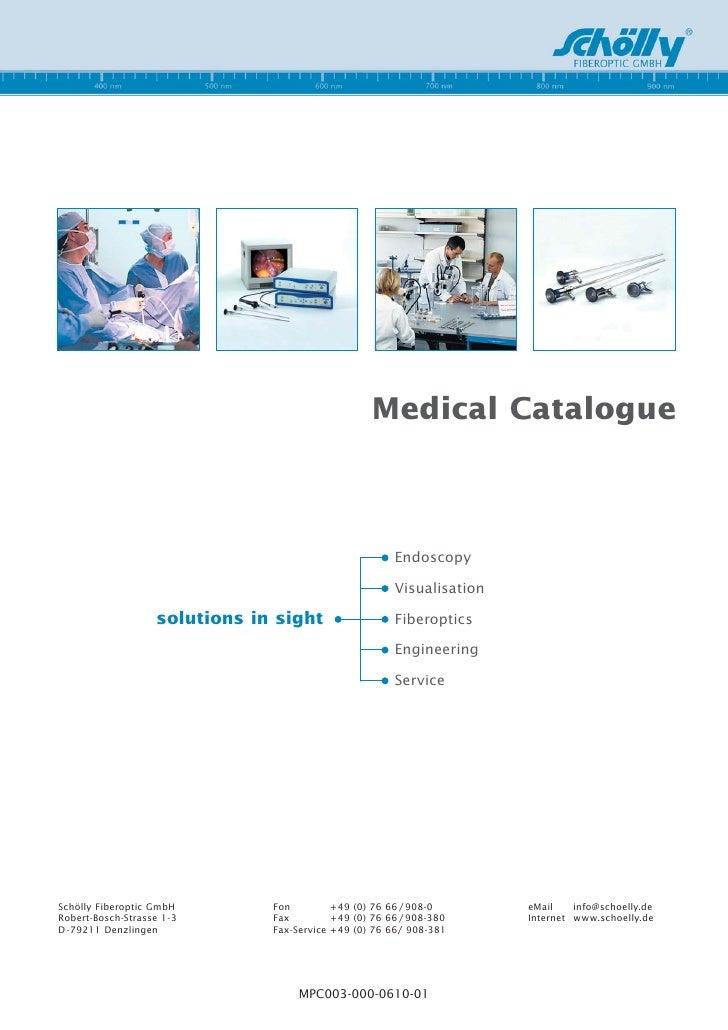Medical Catalogue                                                            Endoscopy                                    ...