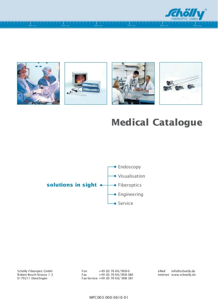 Medical Catalogue                                                            Endoscopy                                    ...