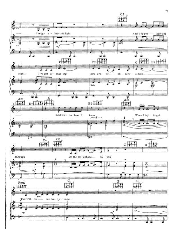 Cn partitura - piano e voz - pink floyd - nobody home