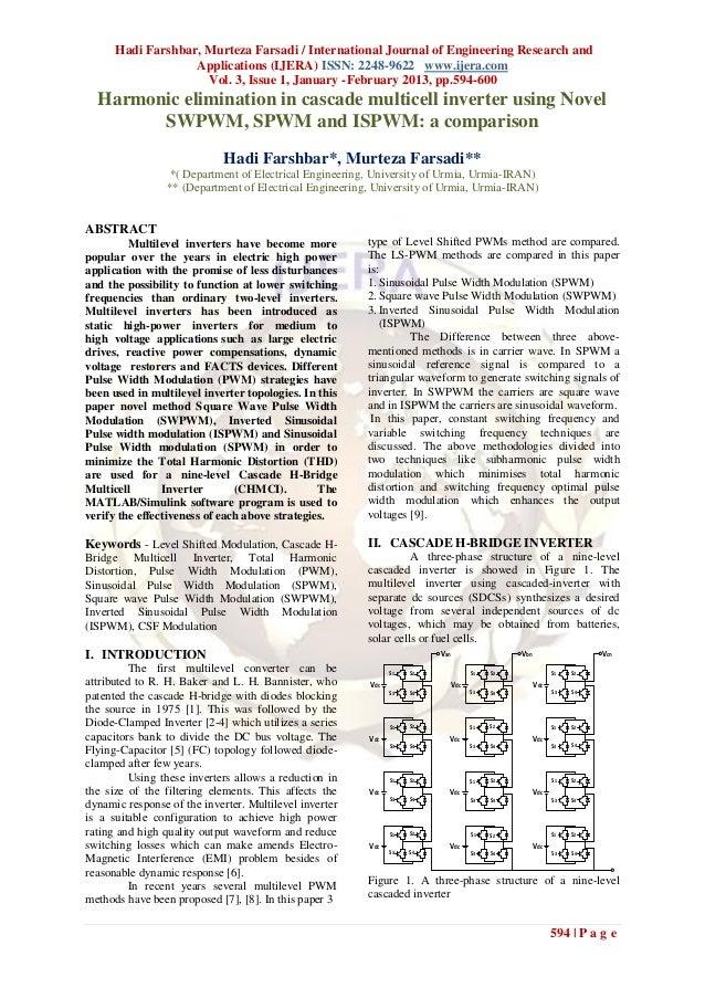 Hadi Farshbar, Murteza Farsadi / International Journal of Engineering Research and                   Applications (IJERA) ...