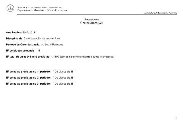 1 Escola EB 2,3 de António Feijó – Ponte de Lima Departamento de Matemática e Ciências Experimentais Subestrutura de Ciênc...