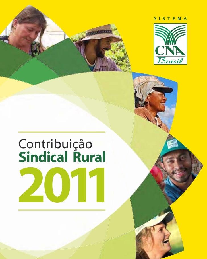 ContribuiçãoSindical Rural2011