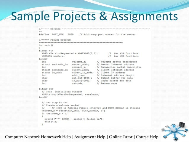 computer networking programming assignments Expertsmindcom offers data communication & networking, computer networking assignment help, homework help & project help with qualified computer science experts.