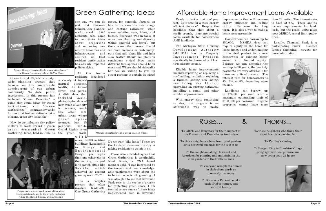 creston neighborhood association newsletter october november 2008