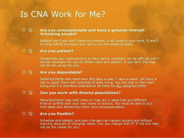 where can a cna work