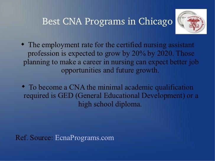 Cna Programs In Chicago