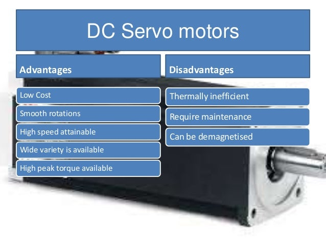 Advantages and disadvantages of stepper motors caferacer for Advantages of ac motor