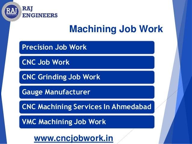 CNC Machining Job Work in India