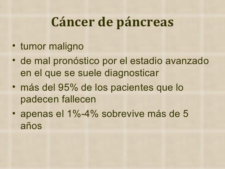 Cáncer de páncreas ppt
