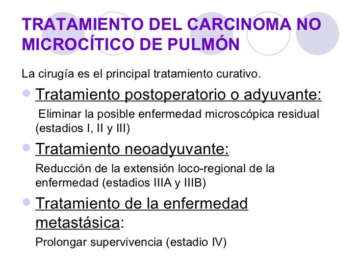 C ncer de pulm n tratamiento - Tratamiento para carcoma ...