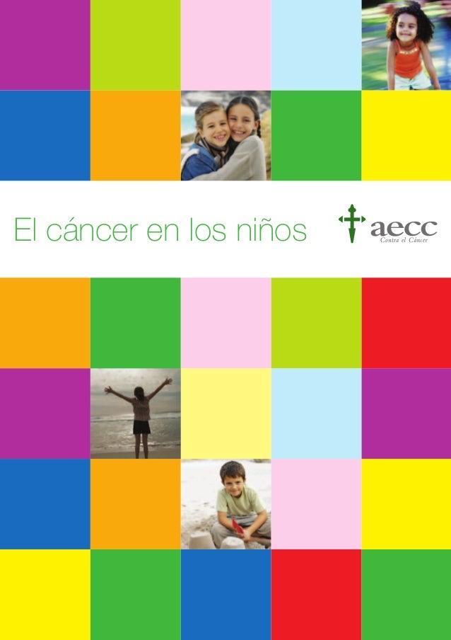 El cáncer en los niños
