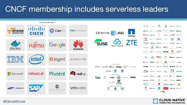 The CNCF on Serverless Slide 3