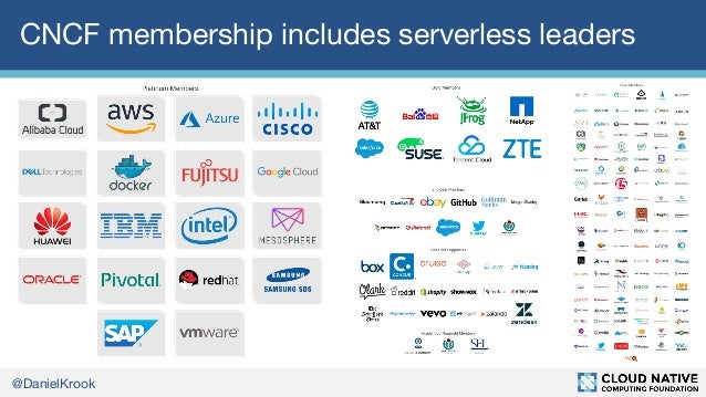 Event specifications, state of the serverless landscape, and other news from the CNCF Serverless Working Group Slide 3