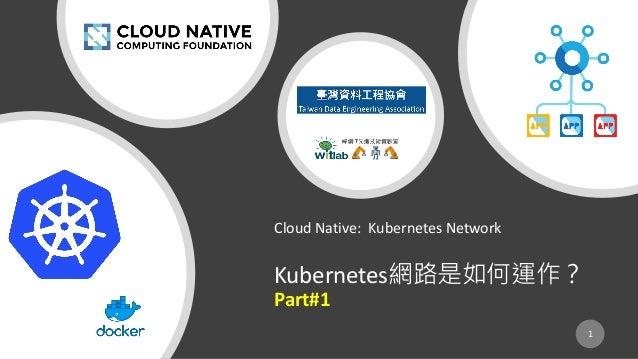 Cloud Native: Kubernetes Network Kubernetes Part#1 1