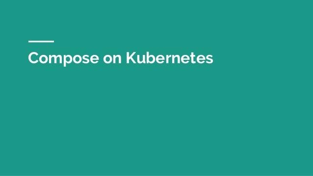 Compose on Kubernetes
