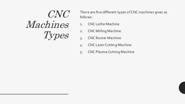 Cnc Machine And Its Types